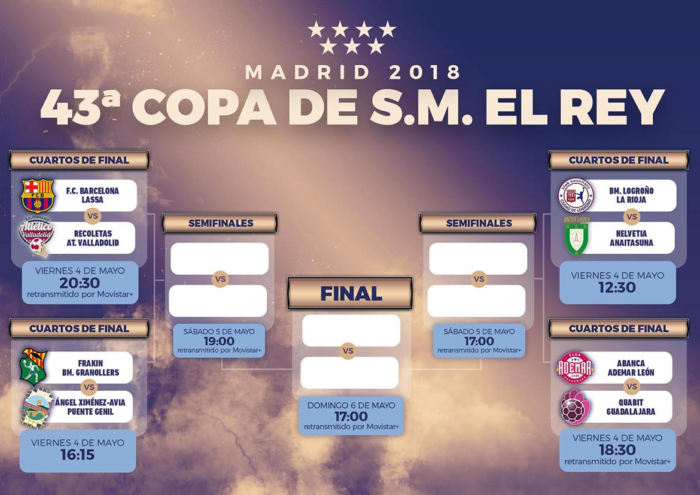 Copa del Rey 2018 - Federación Madrileña de Balonmano